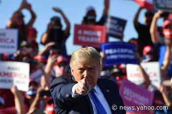 President curses and rages at coronavirus coverage during crowded rally