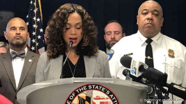 Mosby 'Concerned' About Potential Violence Around Election, Though She Doesn't Expect Baltimore To Be 'Flashpoint'