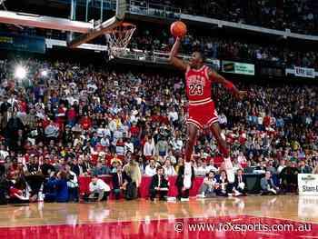 Hidden changes in iconic Michael Jordan NBA image