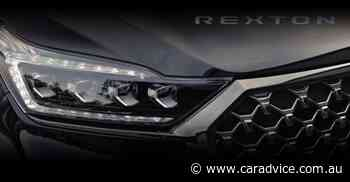 2021 SsangYong Rexton facelift teased, leaked ahead of November debut