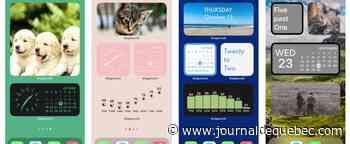 Très populaires sur iOS 14, découvrez les widgets sur vos iPhone