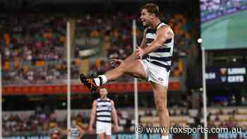 Cats superstar Tom Hawkins forced to isolate from teammates just days from Grand Final
