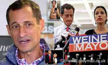 Anthony Weiner denies Hillary Clinton lost 2016 election because of his underage sexting scandal