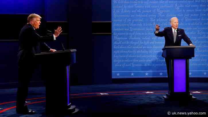 Final Trump-Biden debate will feature 'mute' button to avoid interruptions