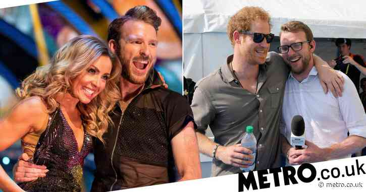 Prince Harry had a royal laugh over pal JJ Chalmers' new Strictly gig