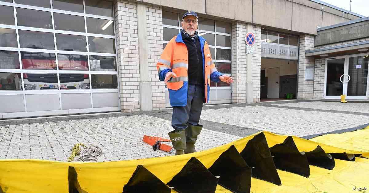 Hochwasserschutz in Wachtberg: Plane schützt vor Überschwemmungen - General-Anzeiger Bonn