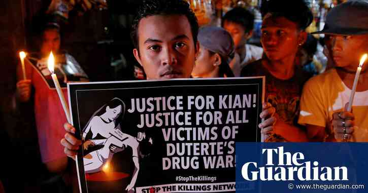 'I'm the one': Philippines president takes responsibility for drug killings