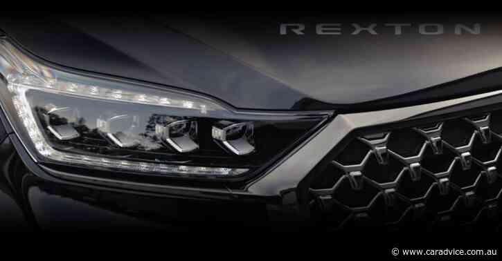 2021 SsangYong Rexton facelift teased – UPDATE: Australian launch confirmed