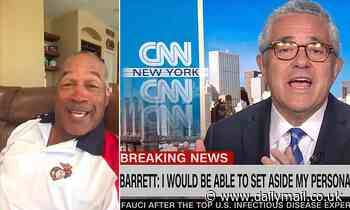 OJ Simpson mocks Jeffrey Toobin after masturbating scandal