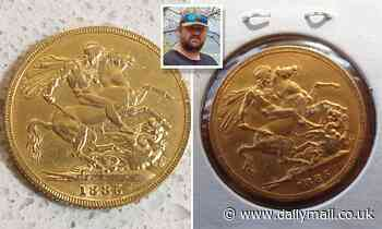 Tradie reveals where he found extremely rare coin from 1885 worth more than $2,300