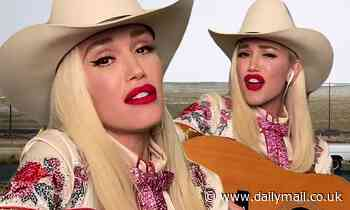 Gwen Stefani does country renditions of her songs Don't Speak and Hollaback Girl
