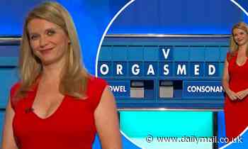 Rachel Riley is left blushing as contestant comes up with another VERY cheeky word