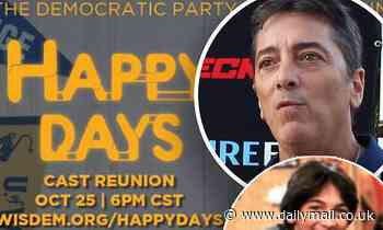 Scott Baio BLASTS Happy Days reunion to benefit Wisconsin Democrats as 'shameful'
