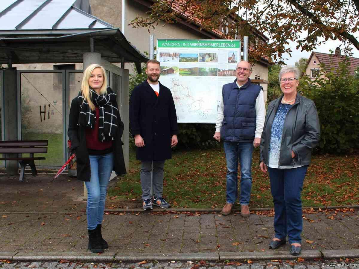Arbeitskreis Tourismus sorgt in Wiernsheim und Serres für Info-Tafeln - Region - Pforzheimer Zeitung