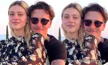 Brooklyn Beckham wraps his arms around fiancée Nicola Peltz in romantic Instagram post