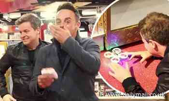 Ant McPartlin and Declan Donnelly cause HAVOC with a drone in toy shop