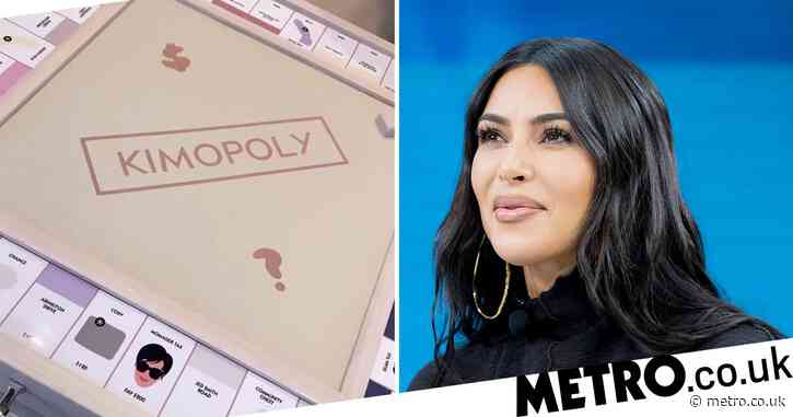 Kim Kardashian gifted her very own 'Kimopoly' board complete with 'momager tax' and we want one