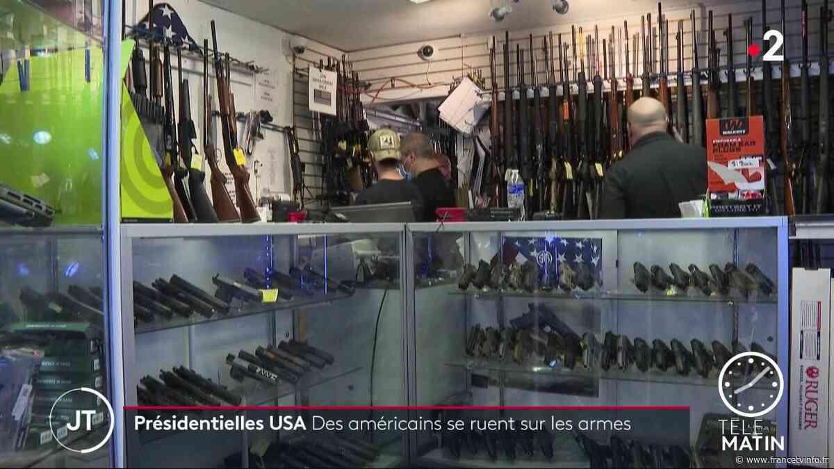 États-Unis : les Américains se ruent sur les armes - Franceinfo