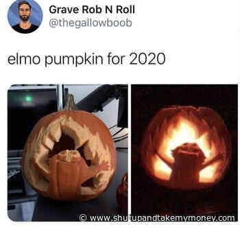 Elmo Pumpkin For 2020 – Meme