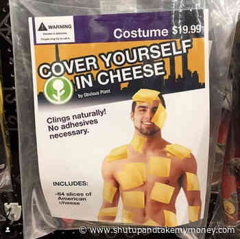 Cover Yourself In Cheese Halloween Costume – Meme