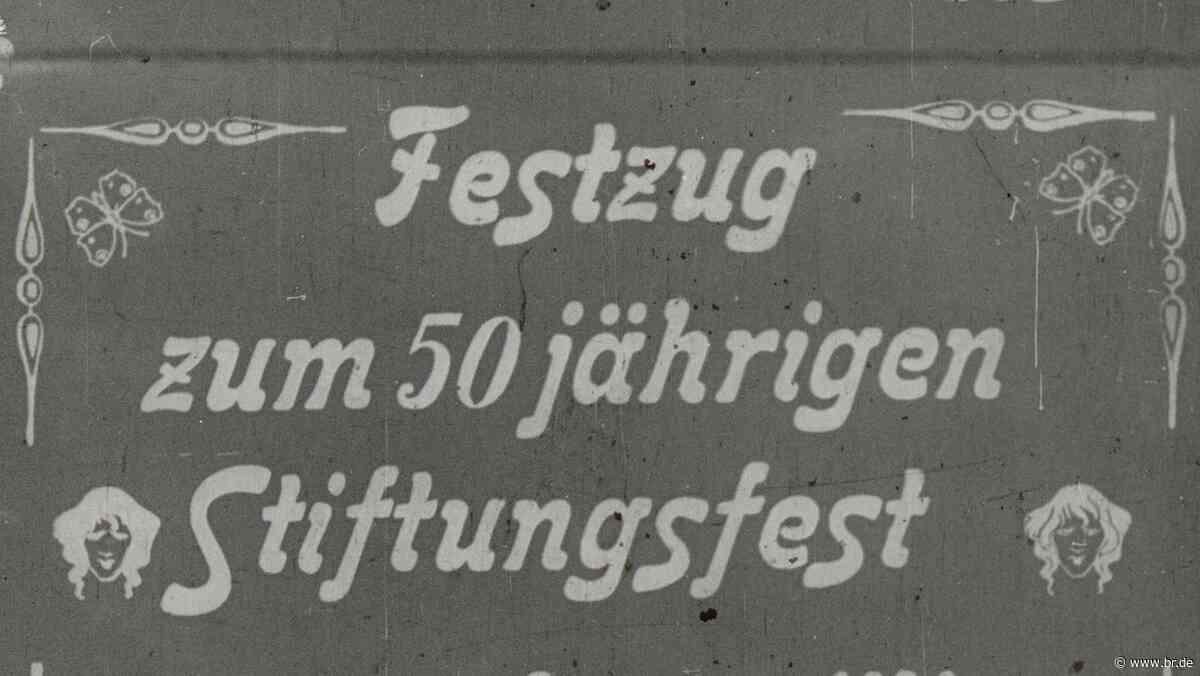 Älteste Filmaufnahmen aus der Stadt Aschaffenburg entdeckt - BR24