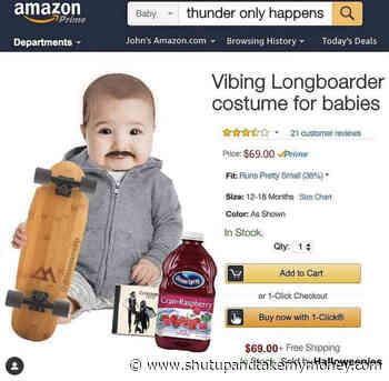Vibing Longboarder Costume For Babies – Meme