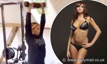 TOWIE's Amy Childs says she 'hates the way her body is' at 10.5st as she starts exercise regime