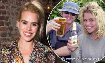 Billie Piper admits she got 'completely hammered for three years' with ex husband Chris Evans