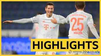 Bundesliga: Robert Lewandowski hits double as Bayern Munich thrash Arminia Bielefeld