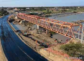 Lambayeque: cierran el tránsito en el puente Reque para ejecutar obras - Agencia Andina