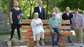 Baumelbank zum Ehejubiläum: Diese zwei Neuheiten sollen Spaziergänger in Bad Rothenfelde erfreuen - noz.de - Neue Osnabrücker Zeitung