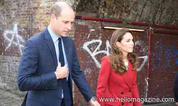 Kate Middleton stuns in bold red coat as she steps out with Prince William