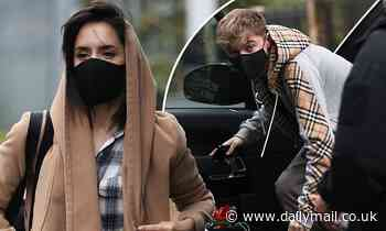 Strictly pro Janette Manrara heads to rehearsal with partner HRVY in face masks