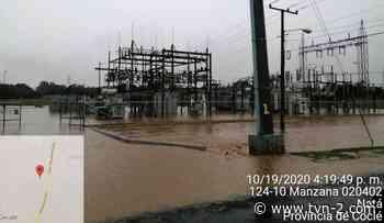 Onda tropical N°42 causa afectaciones a la Subestación de Pocrí en Coclé - TVN Noticias