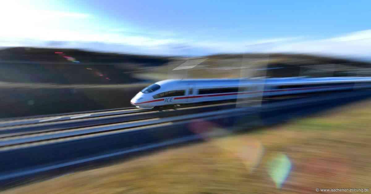 Fahrplanwechsel: ICE von Aachen nach Berlin hält auch in Erkelenz - Aachener Zeitung