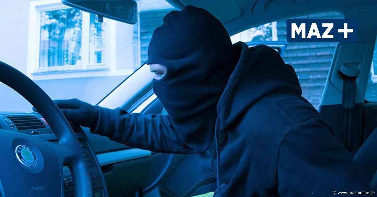 Autodiebstahl in der Nacht: Polizei fahndet nach Audi aus Birkenwerder - Märkische Allgemeine Zeitung