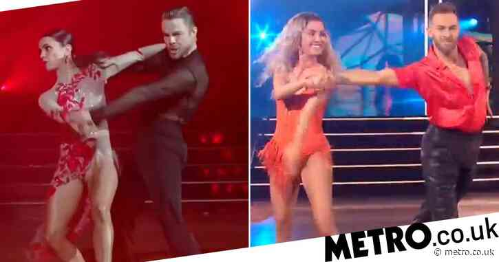 DWTS' Kaitlyn Bristowe dazzles with sizzling samba as Derek Hough makes return to the dancefloor