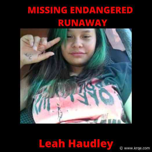 Gallup Police search for missing teen