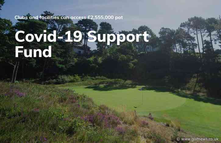 Did your golf club receive a Covid support grant?