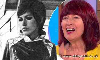 Janet Street Porter, 73, looks unrecognisable in glamorous throwback modelling shot