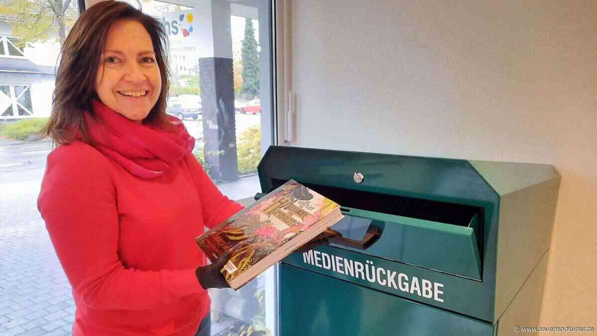 Neu in Stadtbücherei Olsberg: kontaktlose Medienrückgabe - sauerlandkurier.de