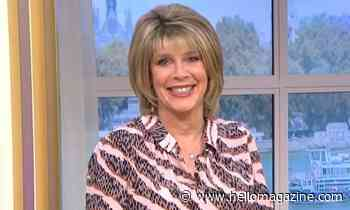 Ruth Langsford accidentally coordinates with Eamonn Holmes on This Morning