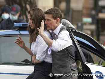 Tom Cruise and Hayley Atwell film Mission: Impossible on streets of Rome - Aberdeen Evening Express
