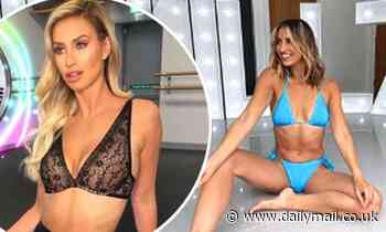 Ferne McCann flaunts her phenomenal figure in a slew of sexy bikinis