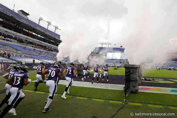 Lottery Open For Ravens Season Ticket Holders Who Want To See Steelers Game Live At M&T Bank Stadium On Nov. 1