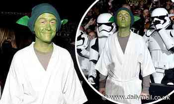 Joseph Gordon-Levitt stands by his memorable Star Wars red carpet look where arrived as Yoda