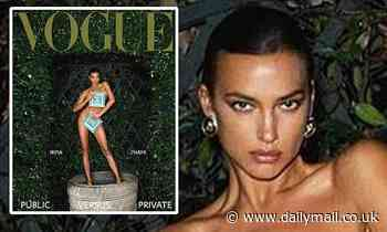 Irina Shayk poses completely NUDE for Vogue Czechoslovakia