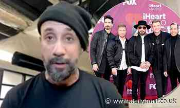 Backstreet Boys 'basically broke into' AJ McLean's house to stage an intervention