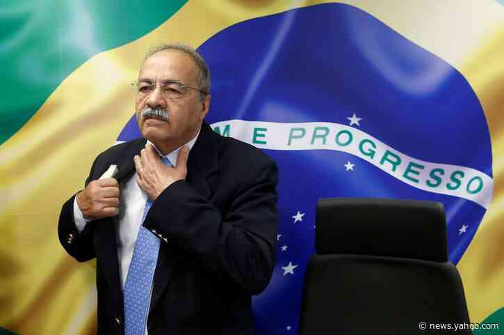 Brazil senator caught with cash in underwear seeks 90-day leave