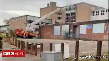 Crews tackle 'deliberate' blaze at disused Birmingham school